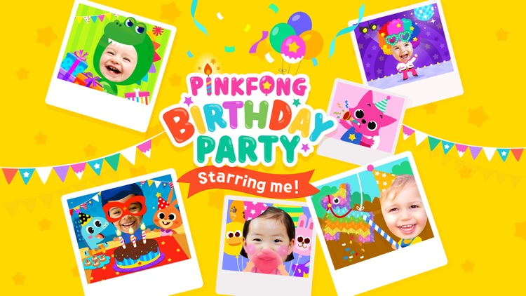 PINKFONG Birthday Party screenshot-0