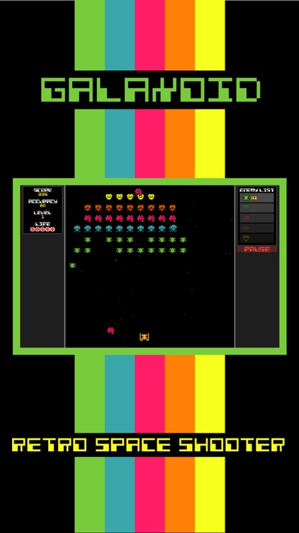 Galaxoid: A Retro Space Shooter
