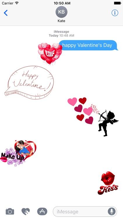 Cute Love Sticker for iMessage