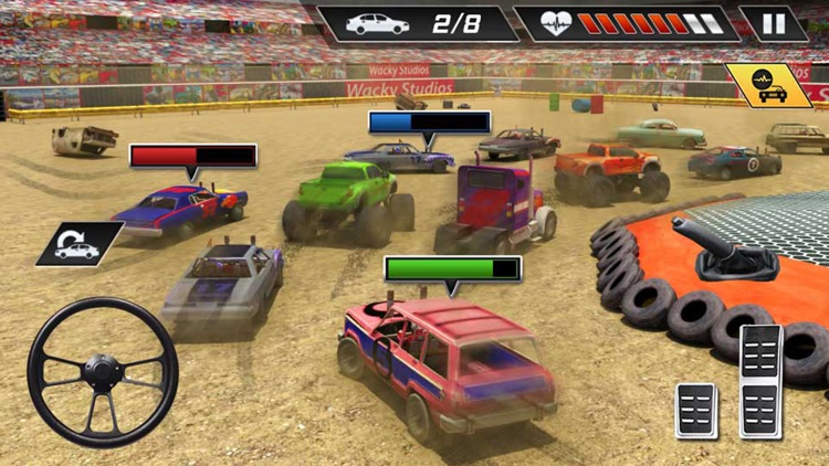 Xtreme Demolition Derby Racing Car Crash Simulator screenshot-4