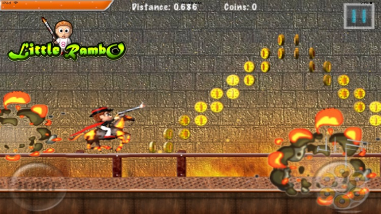 Little Rambo Shooting : Fun Kids Shooting & Racing