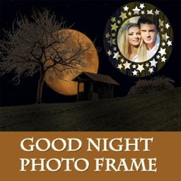 Good Night Photo Frame And Pic Collage
