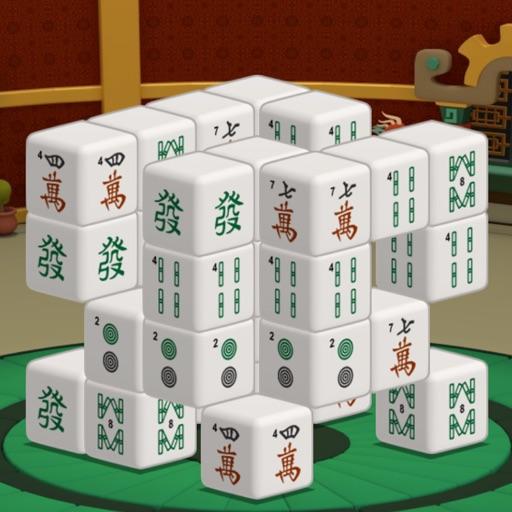 三维麻将馆 - 中国风的麻将风格 app logo