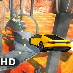 Hill Stunt Wheels 3D Speed Racing Car