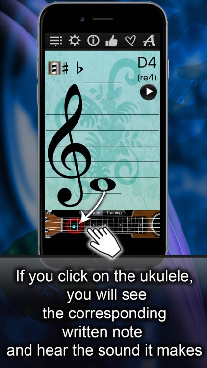Ukulele Notes Finder