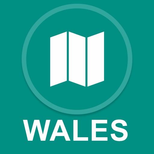 Wales, UK : Offline GPS Navigation