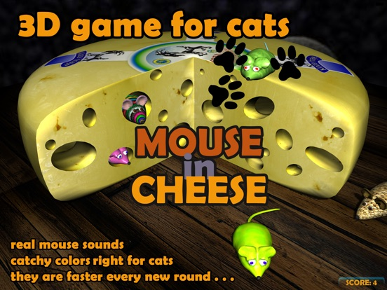 mouse in cheese 3d game for cats app price drops