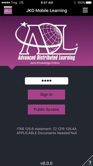 JKO Mobile Learning on the App Store