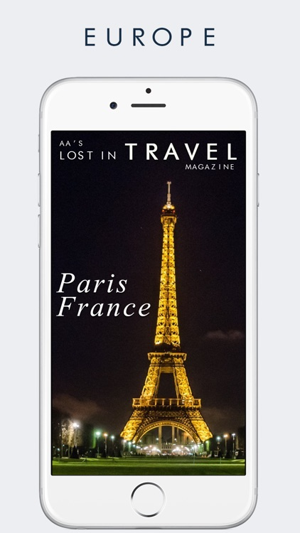 AAs Lost in Travel Magazine