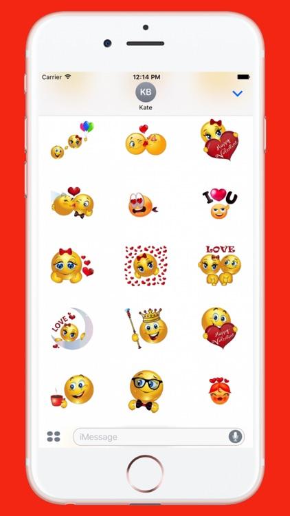 Flirty Sticker for iMessage screenshot-3