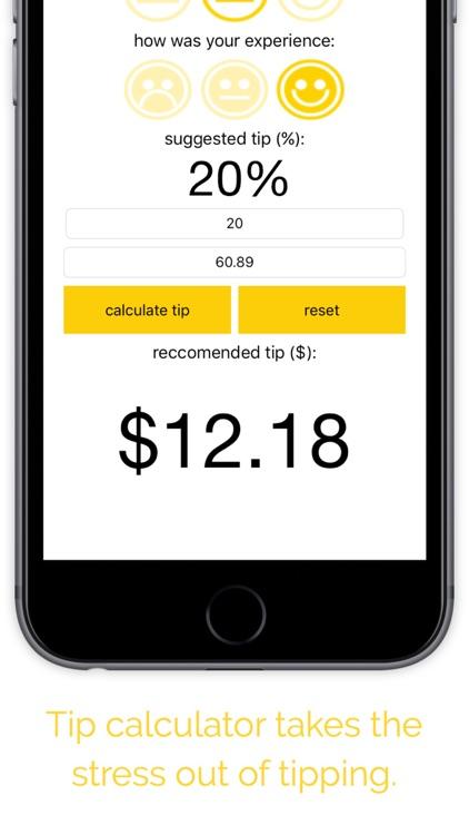 Tip Calculator - Tipping Tool screenshot-3