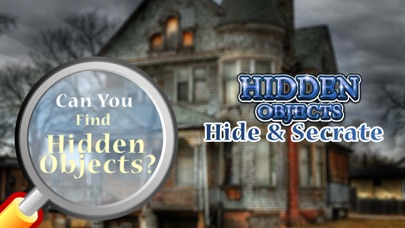 Hide And Secret Hidden Objects screenshot one