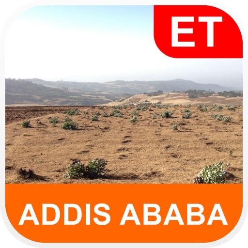 Addis Ababa, Ethiopia Map - PLACE STARS