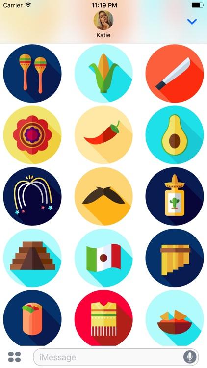 Cinco de Mayo Party Stickers