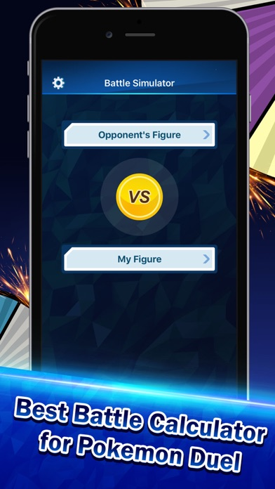 Battle Calculator for Pokemon Duel Screenshot on iOS