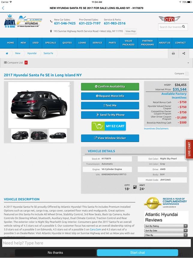Atlantic Hyundai Dealer App On The App Store