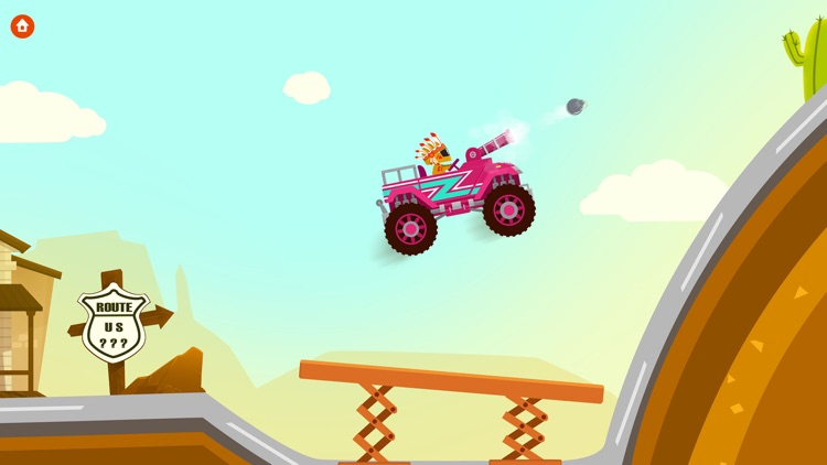 Monster Truck Driver - Simulator Games For Kids screenshot-3
