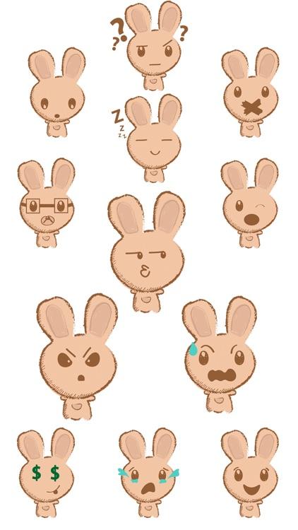 Weird Rabbit Stickers