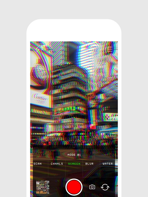 Glitch Cam & 80s VHS Camcorder screenshot 7