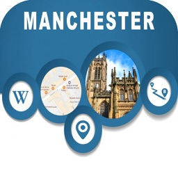 Manchester UK Offline City Map Navigation