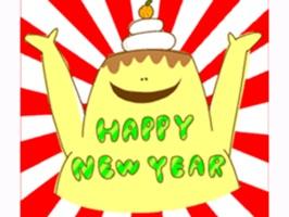 Happy New Year Stickers
