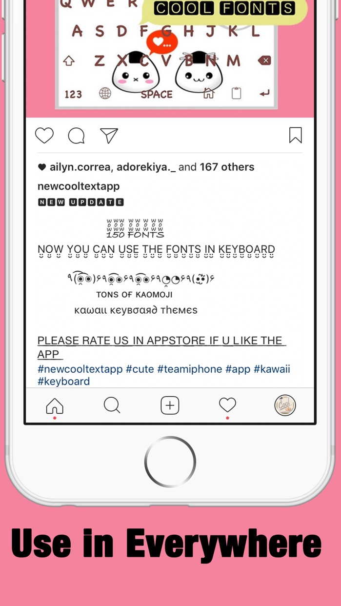 New Cool Text: Fonts FX,Emoji Font & Font Keyboard Screenshot