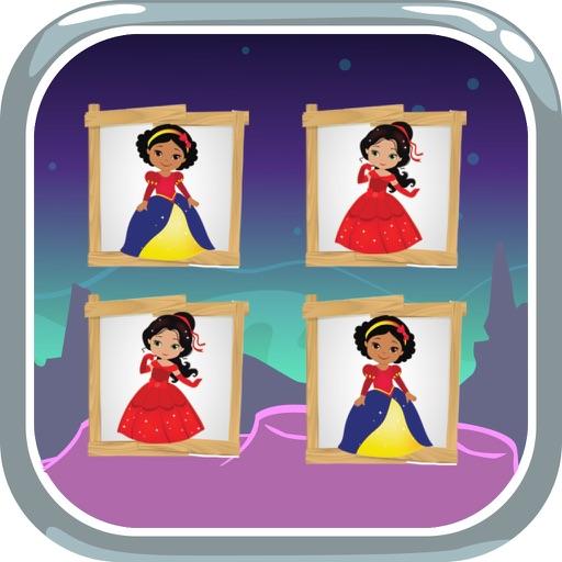 Cards Matching & Coloring Book Princess