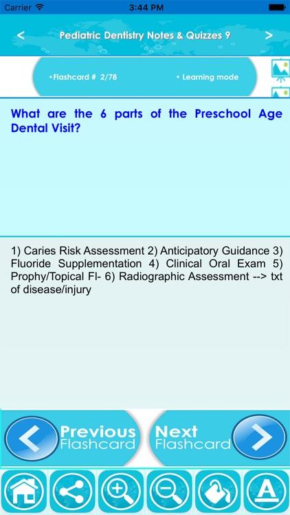 Pediatric Dentistry Exam Review For Self Learning screenshot-3
