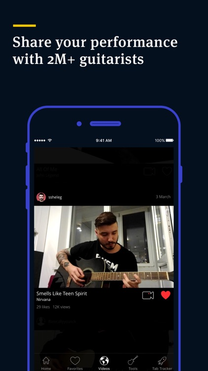 Tabs & Chords by Ultimate Guitar - learn and play screenshot-4
