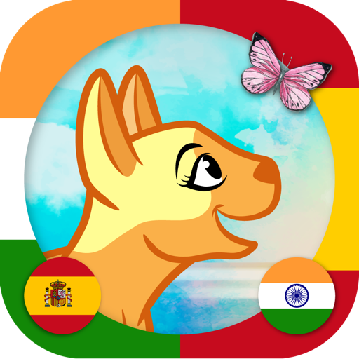 Learn Hindi & Spanish - Toddler & Kids Animals