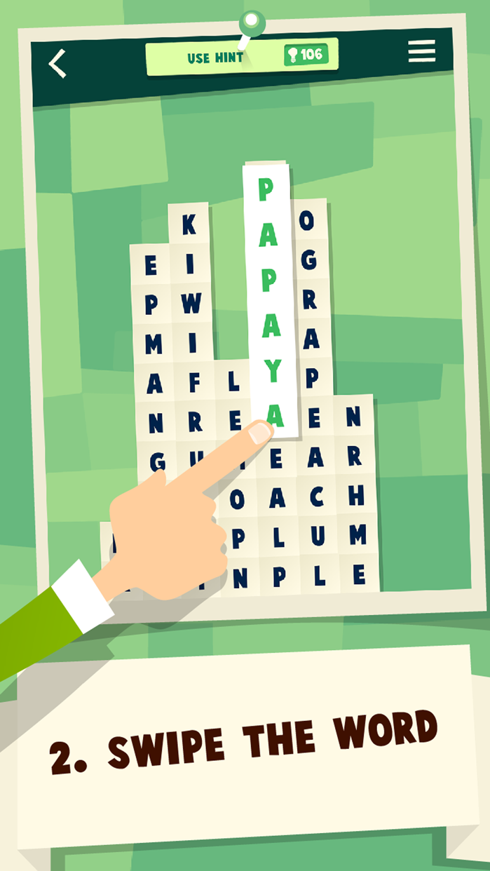 WordCollapse Screenshot