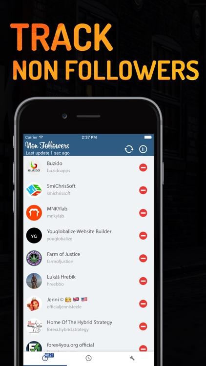 Non Followers For Instagram IG Unfollower Tracker
