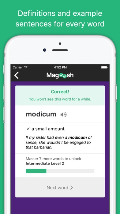 vocabulary builder by magoosh iphoneアプリ applion