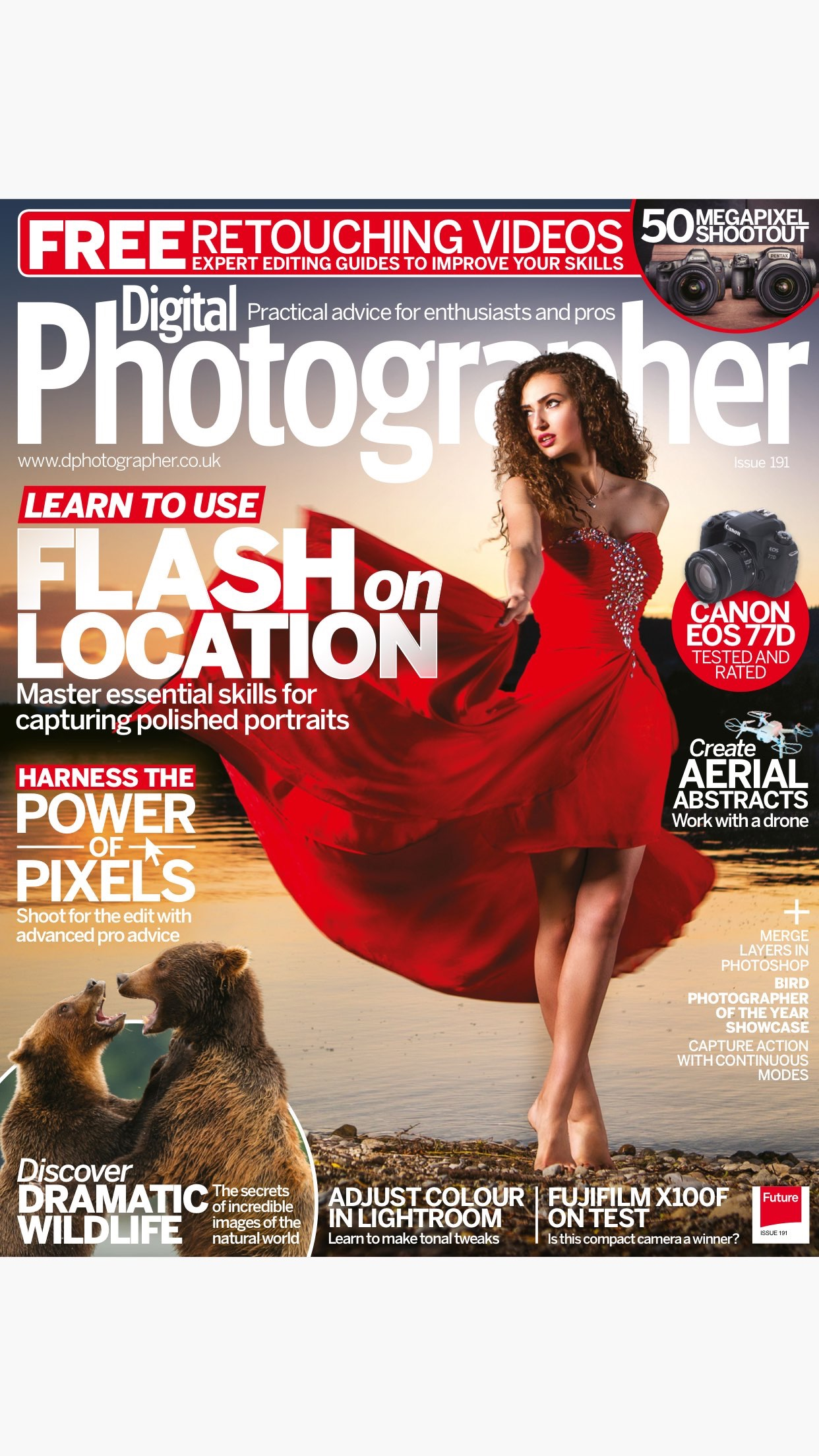 Digital Photographer Magazine: Expert advice Screenshot