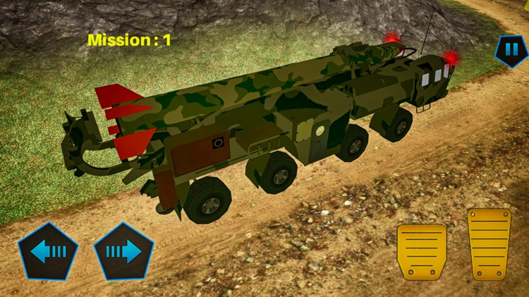 Drive US Army Off Road: Truck Missile Launcher screenshot-1