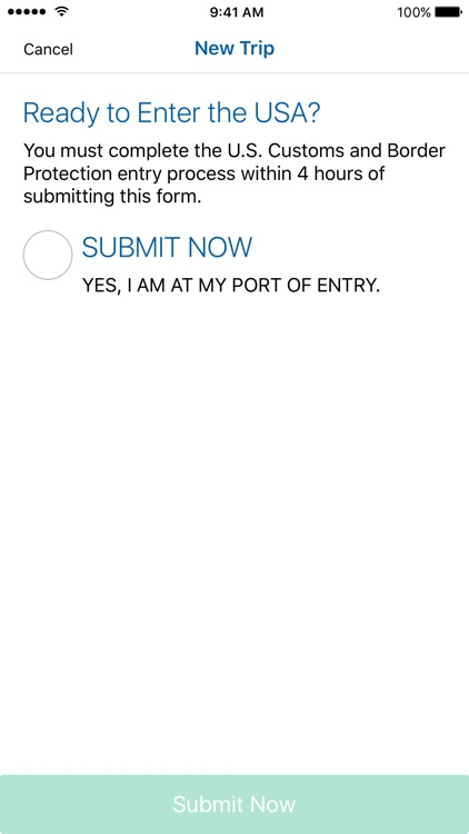 Mobile Passport - Officially Authorized by CBP screenshot-4