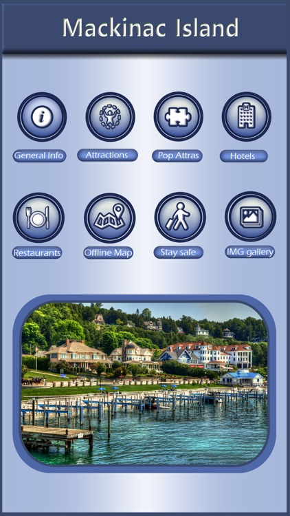 Mackinac Island Offline Tourism Guide screenshot-0