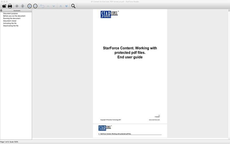 StarForce Reader скриншот программы 1