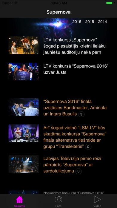 LTV Supernova-0