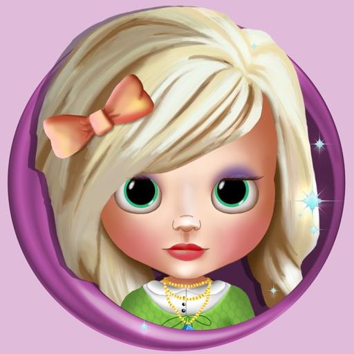 Игры одевалки для девочек - кукла макияж