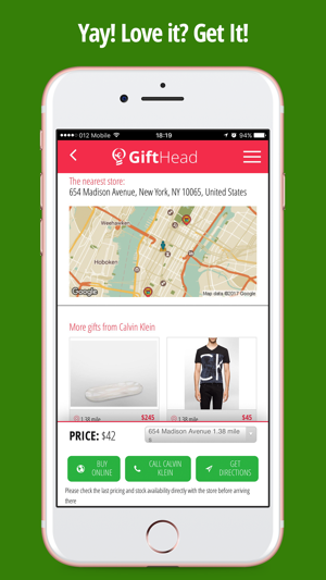 gifthead easy gift shopping on the app store