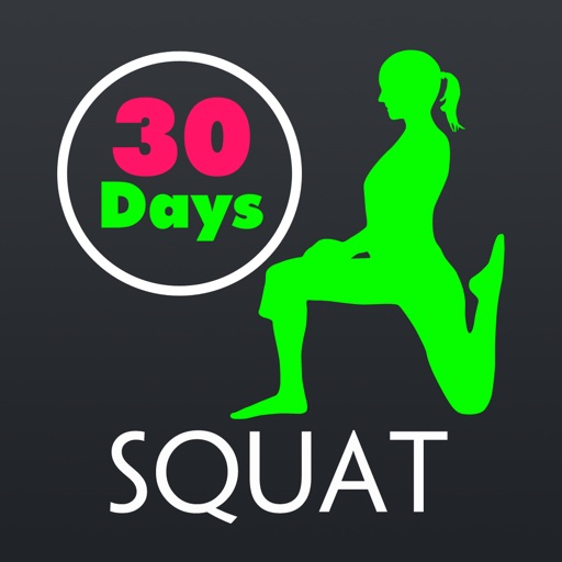 30 Day Squat Fitness Challenges ~ Daily Workout app logo