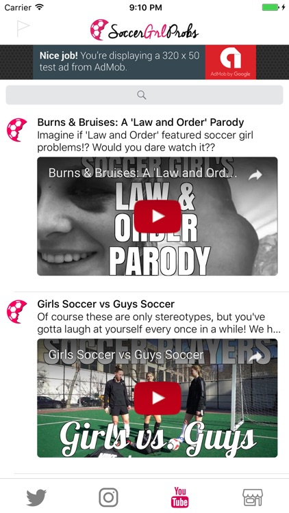 SoccerGrlProbs screenshot-3