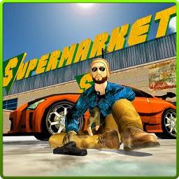Supermarket Gangster Crime Run