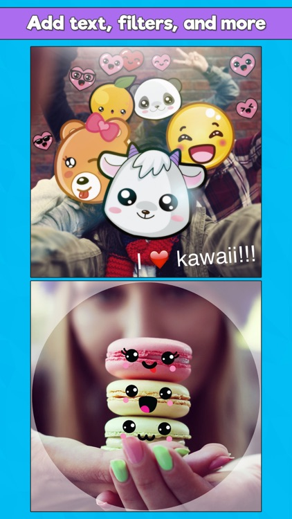 Kawaii Photo Booth - Cute Sticker & Picture Editor