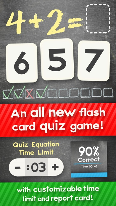 Screenshot #5 for Addition Flash Cards Math Help Quiz Learning Games