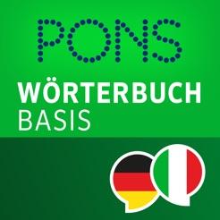 Wörterbuch Italienisch Deutsch Basis Von Pons Na Usluzi App Store