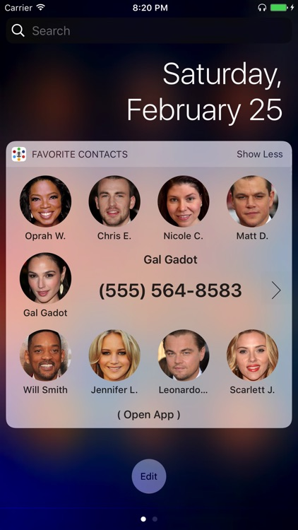 Favorite Contacts - Family & Friends At Hand