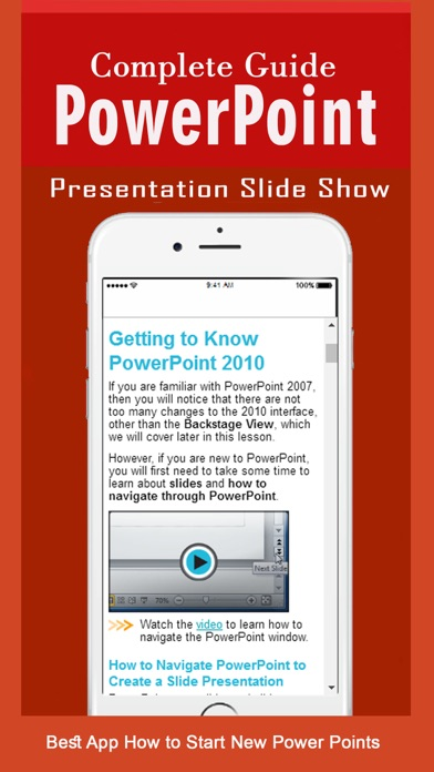 tutorial for ms powerpoint presentations free app price drops