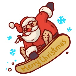 Winter Holiday Christmas Stickers